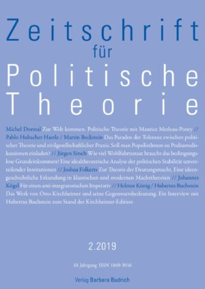 ZPTh 2-2019 | Freie Beiträge