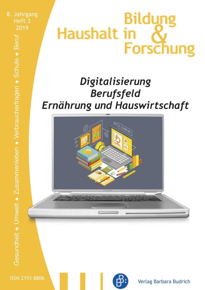 HiBiFo 3-2019 | Digitalisierung – Berufsfeld – Ernährung und Hauswirtschaft