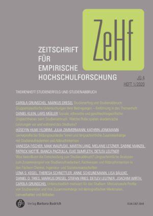 ZeHf 1-2020 | Studienerfolg und Studienabbruch
