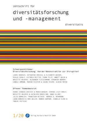 ZDfm 1-2020 | Diversitätsforschung: Von der Rekonstruktion zur Disruption?