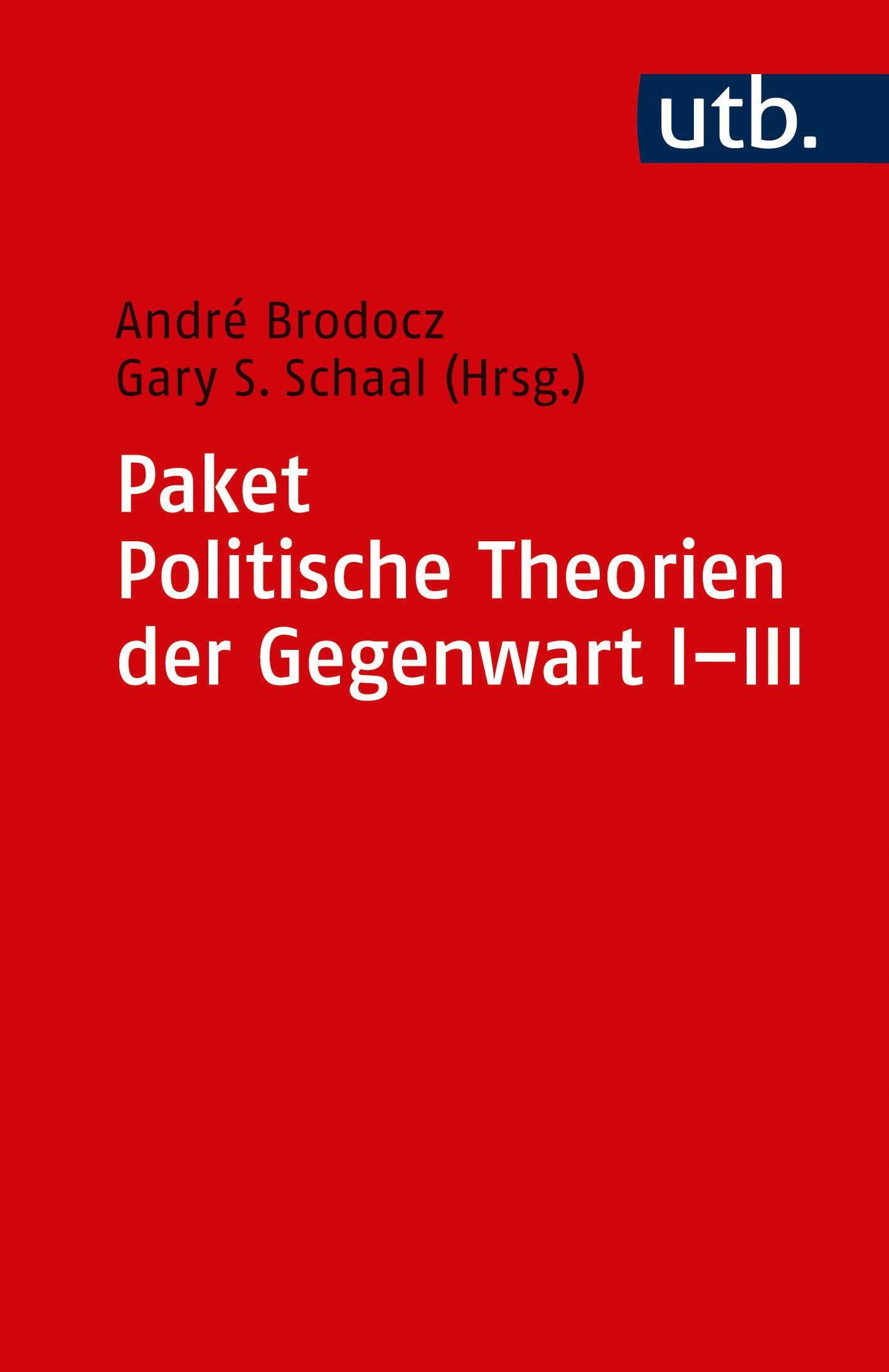 Politische Theorien der Gegenwart I-III