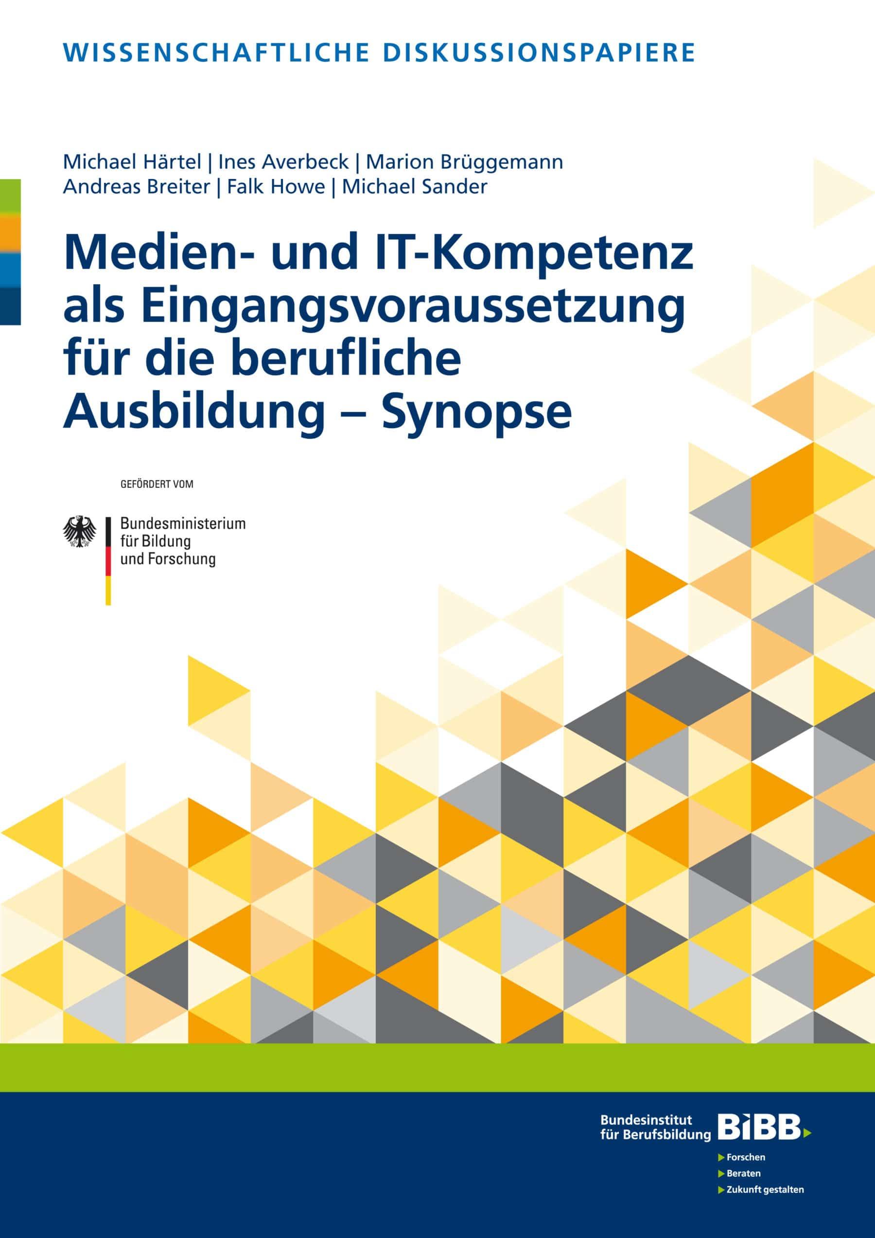 Medien- und IT-Kompetenz als Eingangsvoraussetzung für die berufliche Ausbildung – Synopse