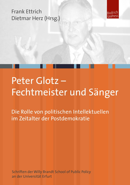 Peter Glotz – Fechtmeister und Sänger