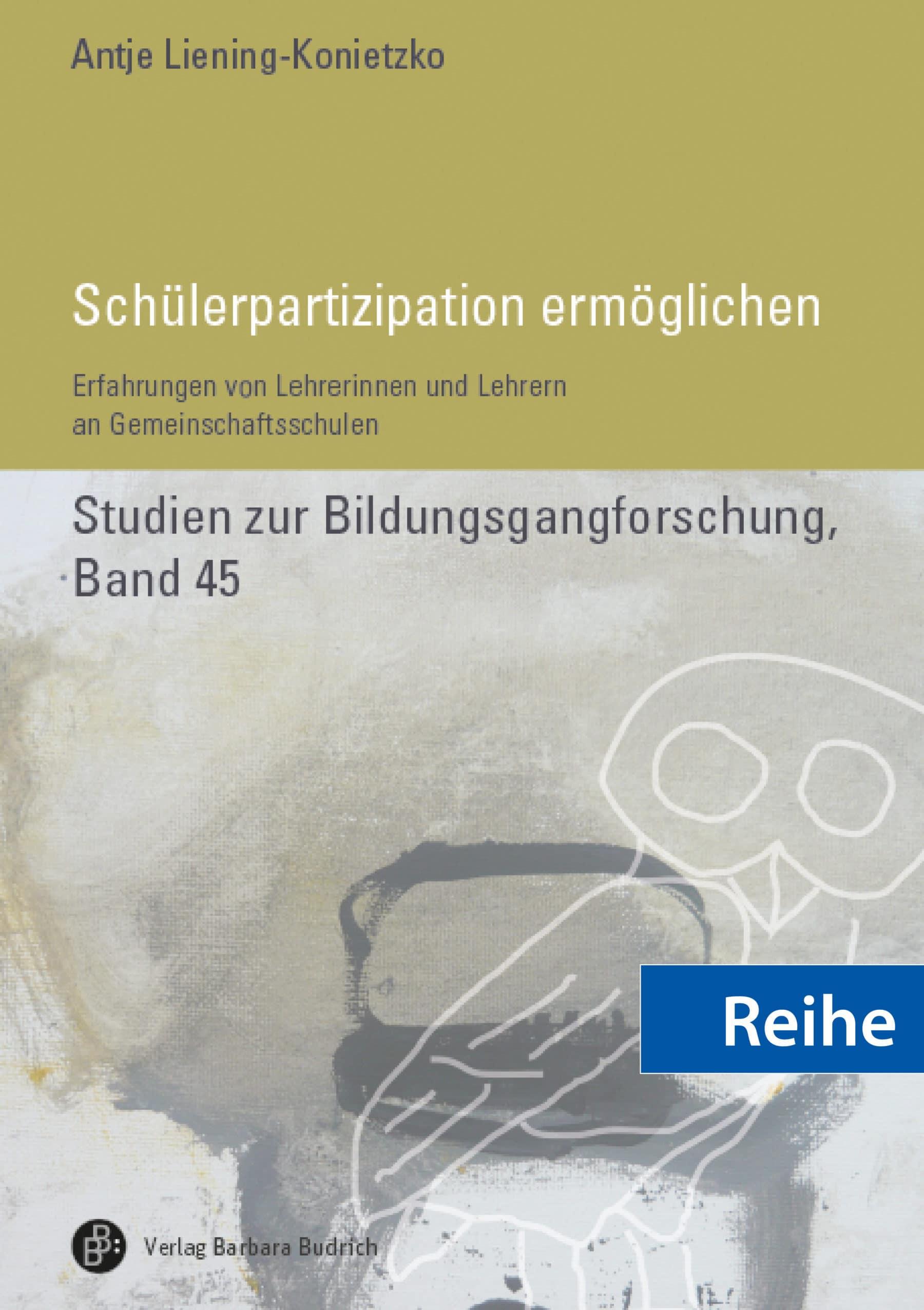 Reihe - Studien zur Bildungsgangforschung