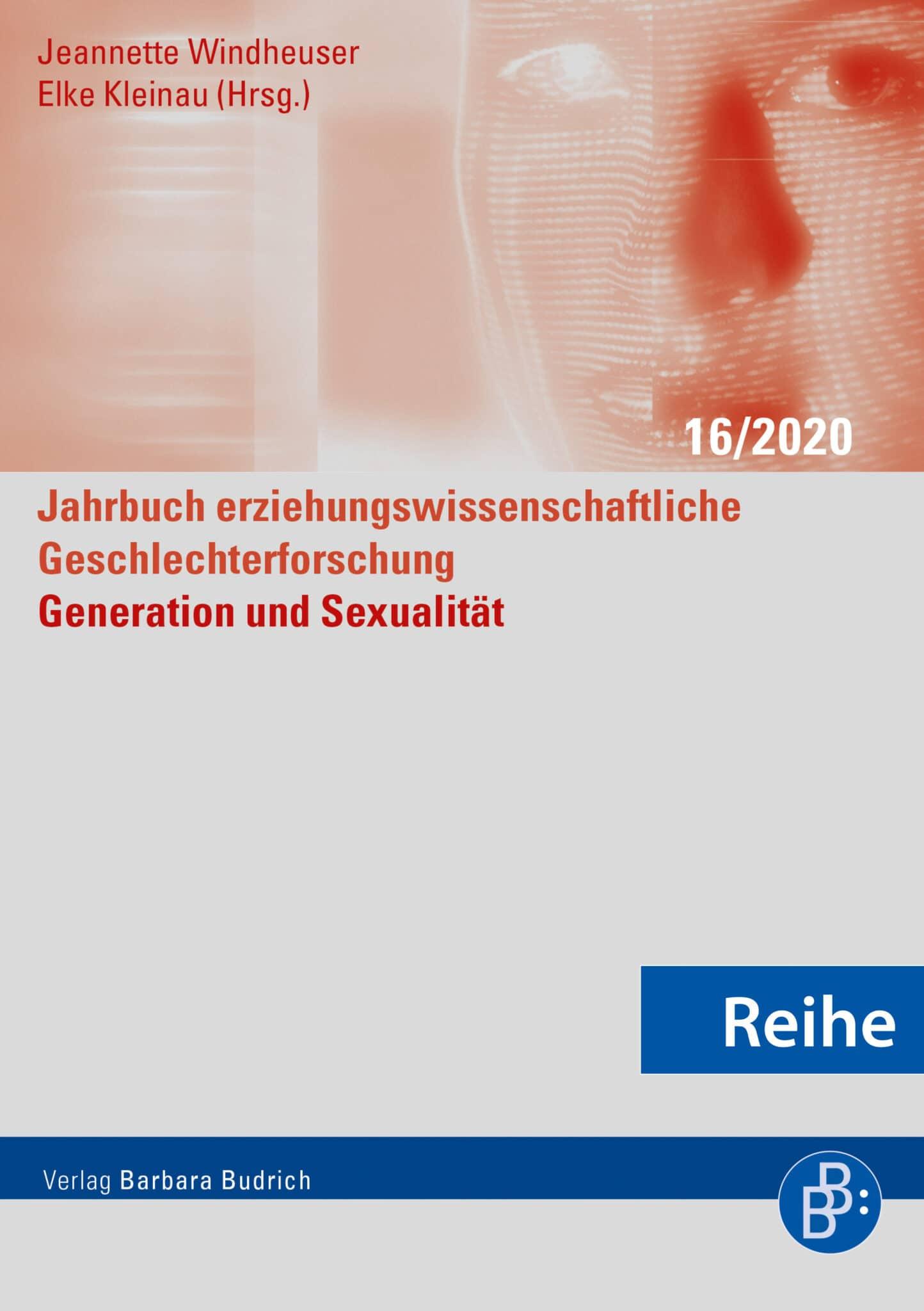 Reihe - Jahrbuch erziehungswissenschaftliche Geschlechterforschung JeG | ehemals: Jahrbuch Frauen- und Geschlechterforschung in der Erziehungswissenschaft