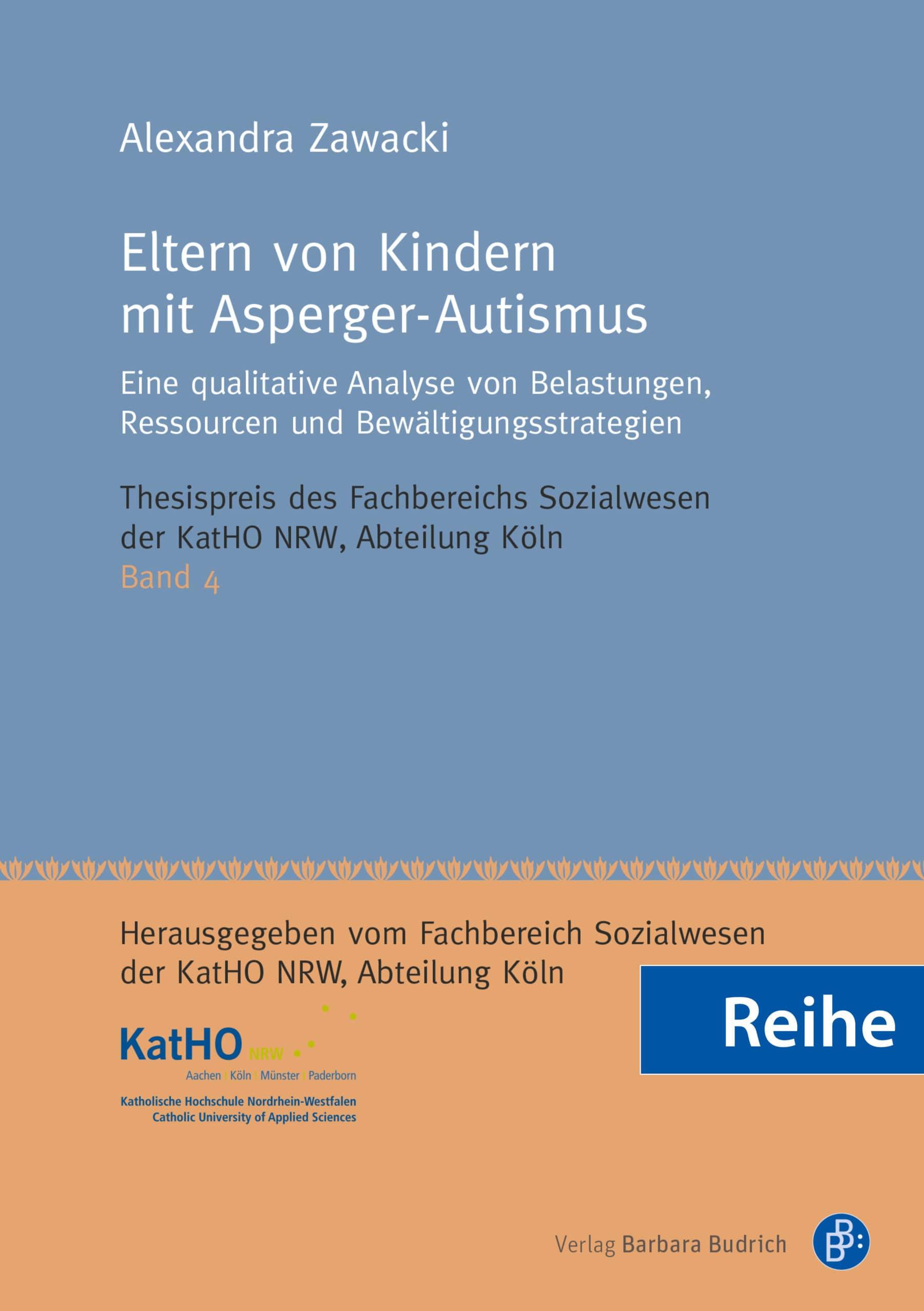 Reihe – Thesispreis des Fachbereichs Sozialwesen der KatHO NRW, Abteilung Köln