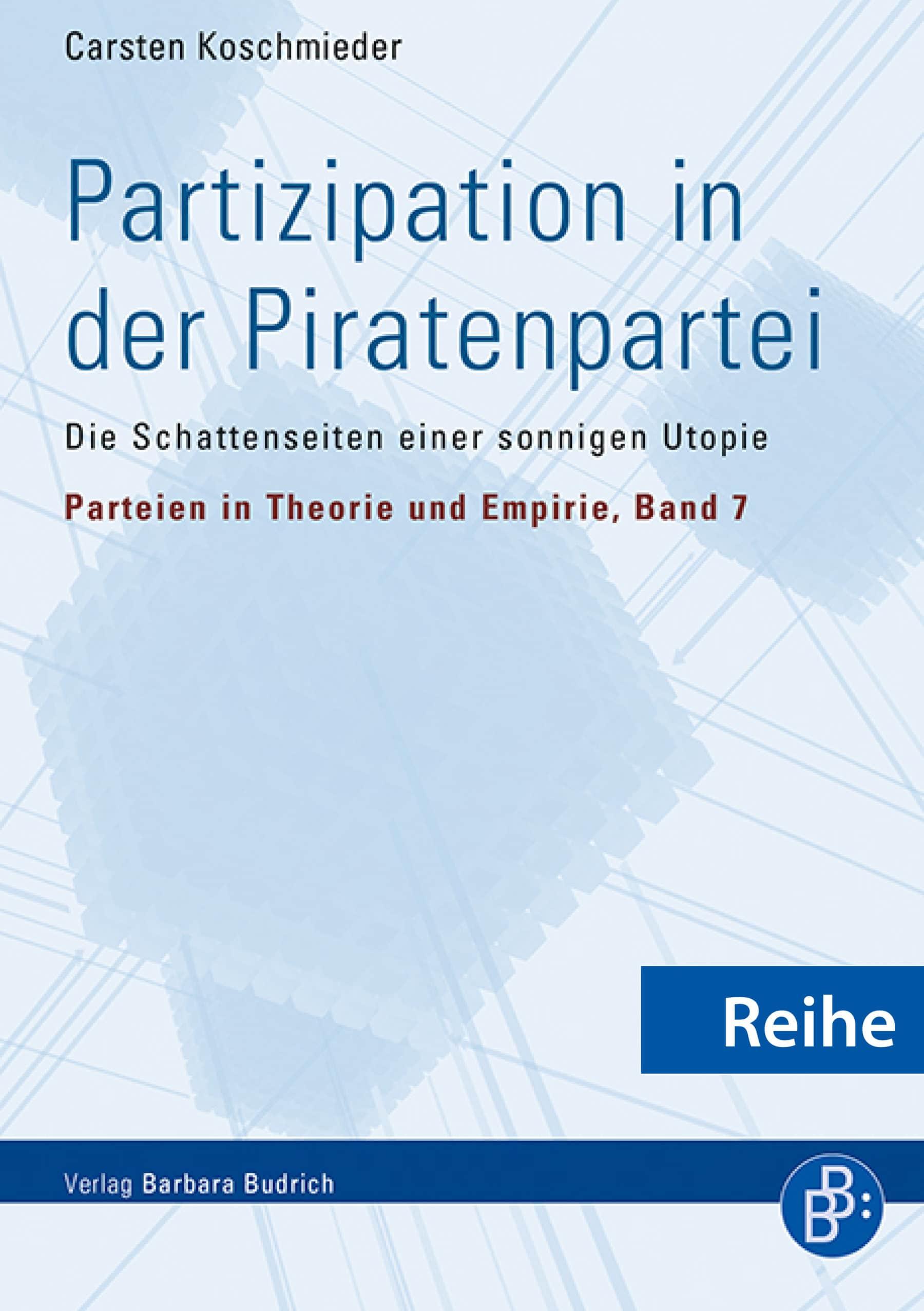 Reihe - Parteien in Theorie und Empirie