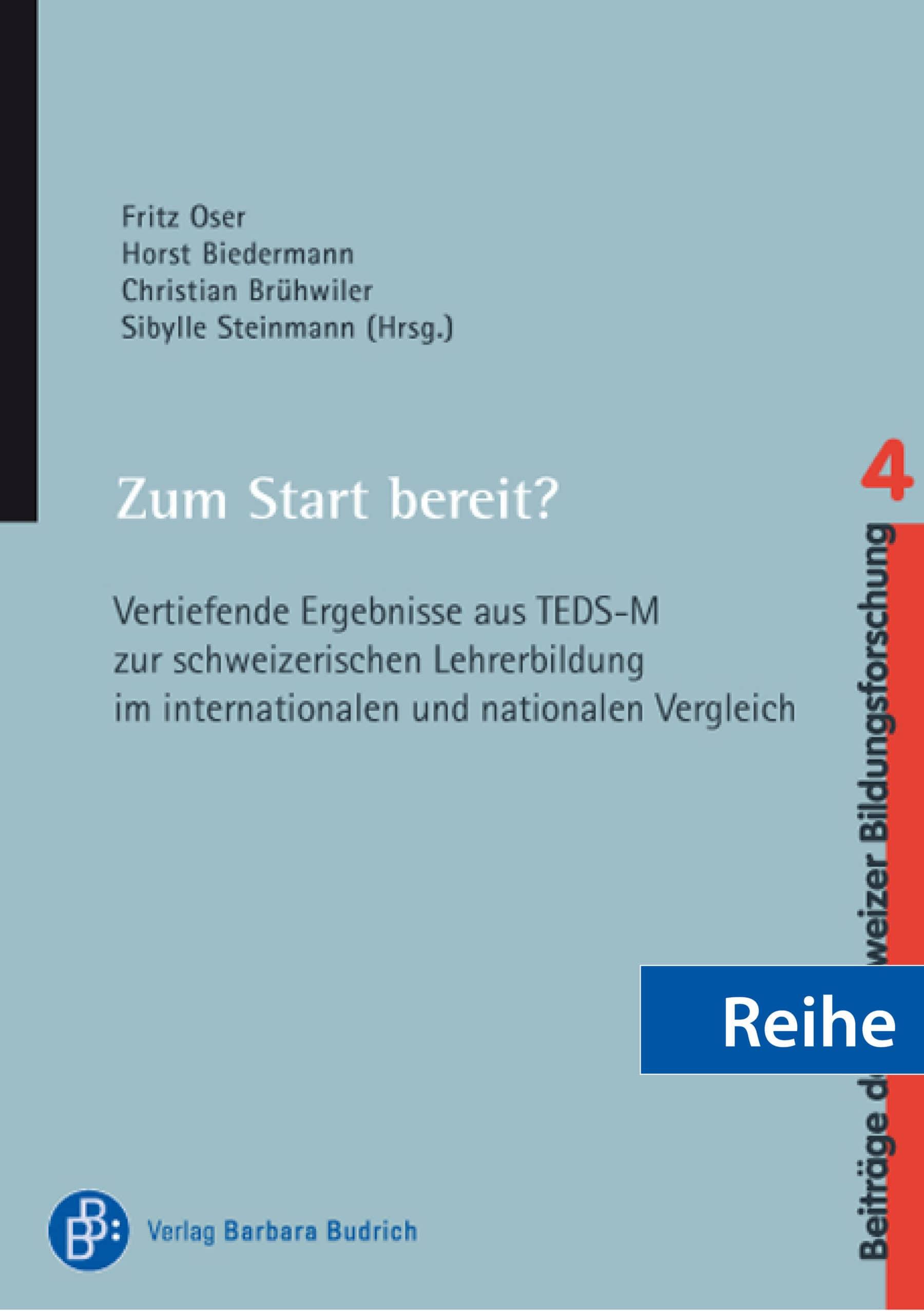 Reihe – Beiträge der Schweizer Bildungsforschung
