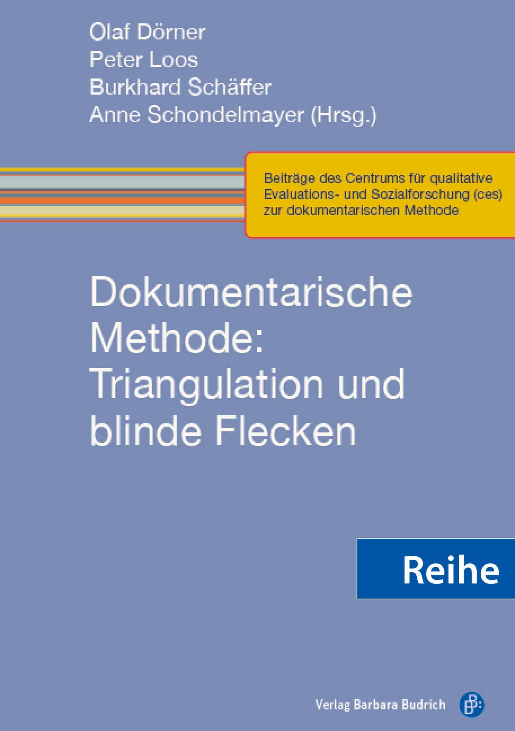 Reihe - Beiträge des Centrums für qualitative Evaluations- und Sozialforschung (ces) zur dokumentarischen Methode