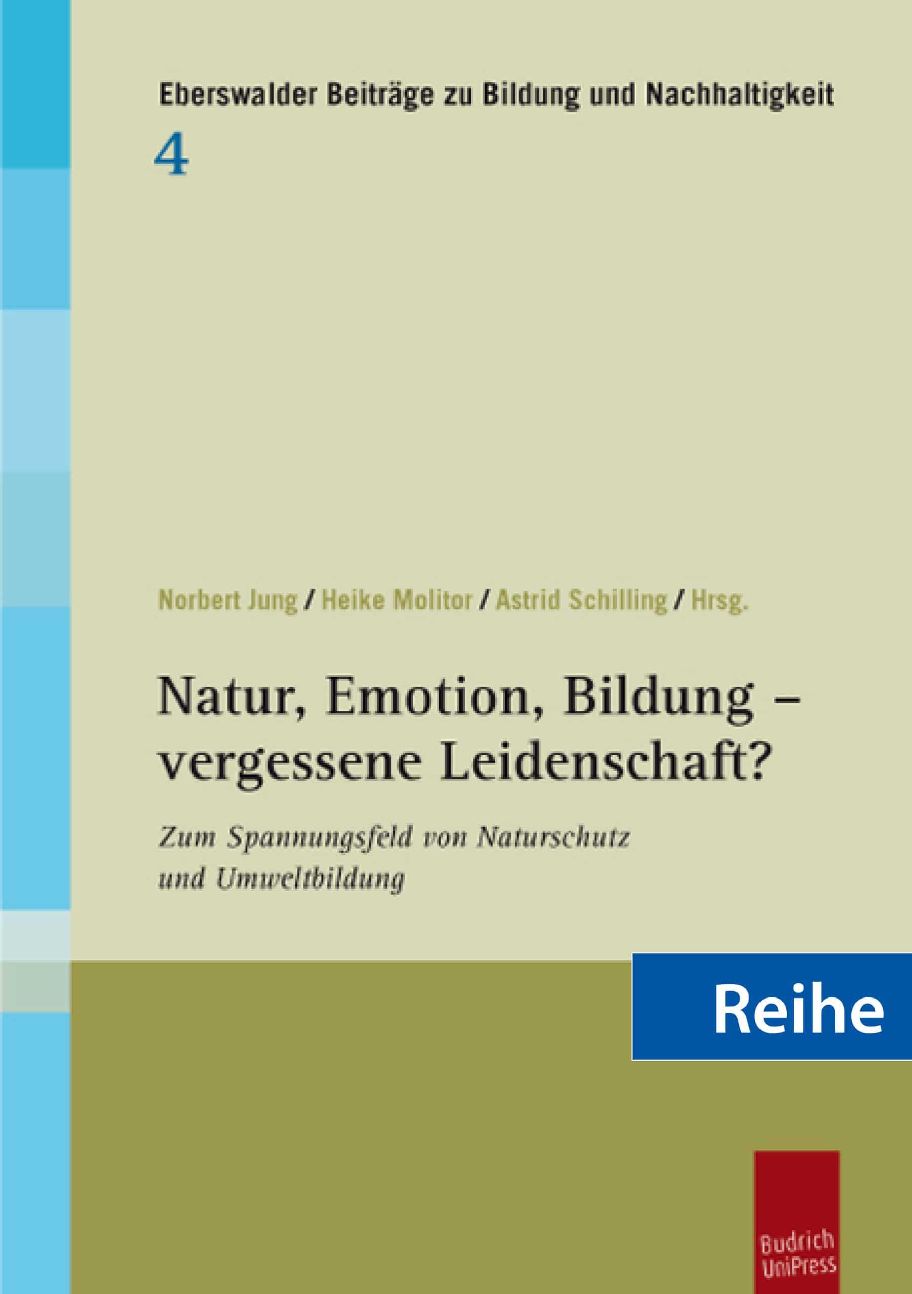 Reihe – Eberswalder Beiträge zu Bildung und Nachhaltigkeit