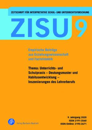 ZISU 9 | Zeitschrift für interpretative Schul- und Unterrichtsforschung