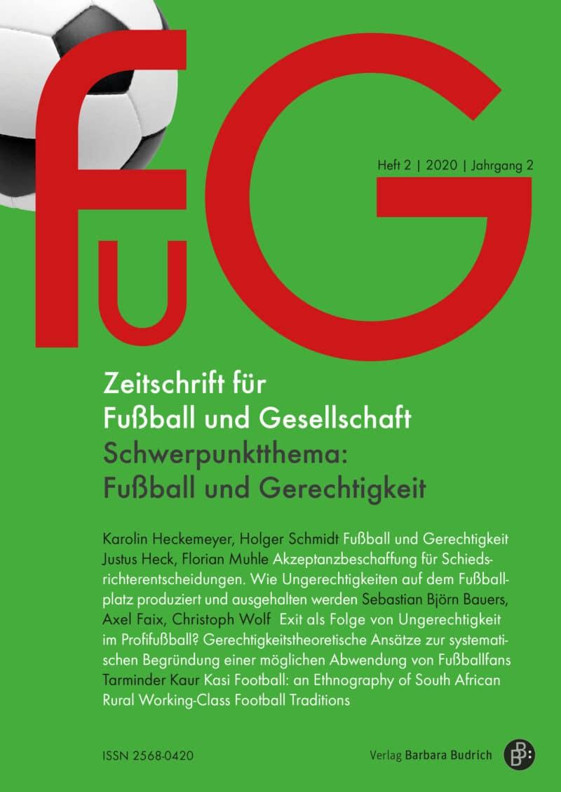 FuG – Zeitschrift für Fußball und Gesellschaft 2-2020: Fußball und Gerechtigkeit