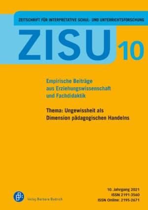 Andreas Bonnet/Angelika Paseka/Matthias Proske (Hrsg.). Heftthema: Ungewissheit als Dimension pädagogischen Handelns. Verlag Barbara Budrich.