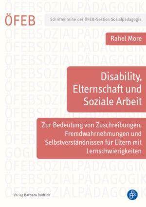 Rahel More, ISBN: 978-3-8474-2537-3, Verlag Barbara Budrich, Reihe: Schriftenreihe der ÖFEB-Sektion Sozialpädagogik, Band 7