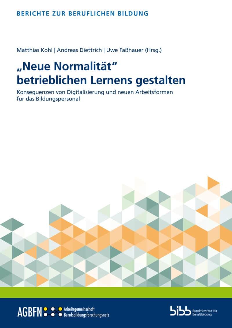 Matthias Kohl/Andreas Diettrich/Uwe Faßhauer (Hrsg.). ISBN: 978-3-8474-2927-2. Verlag Barbara Budrich. Reihe: Berichte zu beruflichen Bildung.