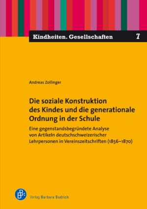 Der Autor: Andreas Zollinger. ISBN: 978-3-8474-2572-4. Verlag Barbara Budrich.