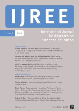 IJREE – International Journal for Research on Extended Education 2-2020: Extended Education at College and its Outcomes